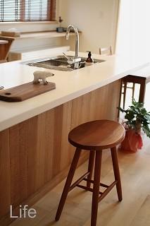 無垢のキッチンの生活とは。