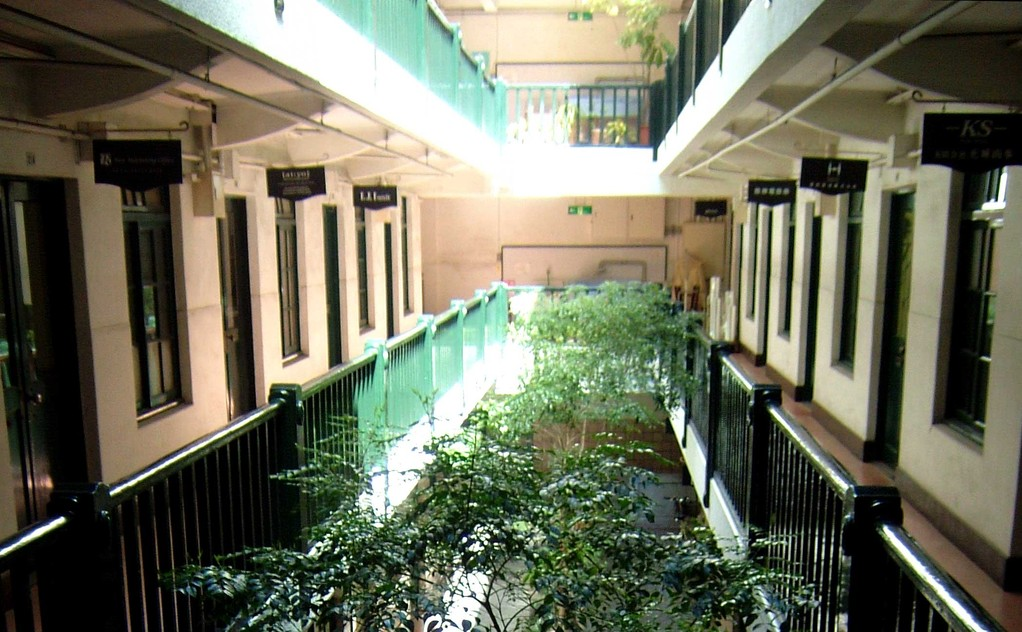 2階の回廊