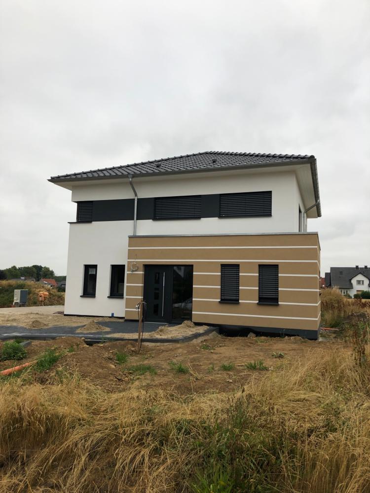 Bau eines Einfamilienwohnhauses in Bünde
