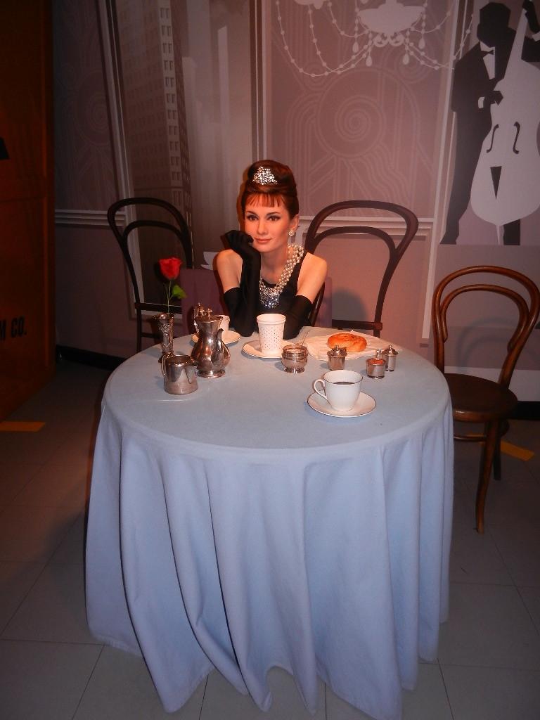 Audrey Hepburn  - aus dem Film - Frühstück bei Tiffany