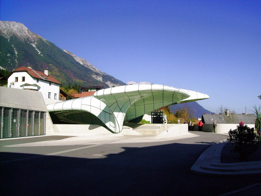 Bergstation - Hungerburgbahn