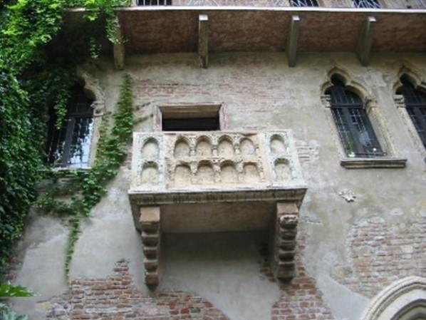 Verona (berühmter Balkon v. Romeo u. Julia)
