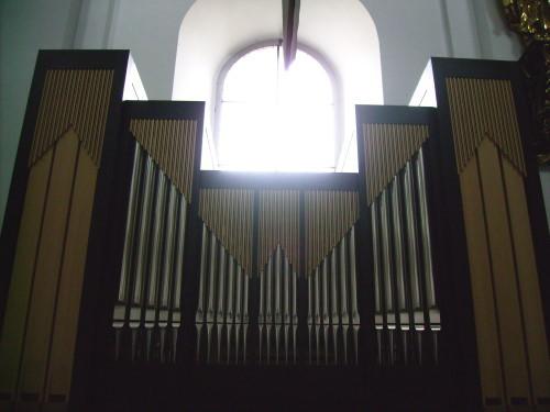 Orgel in der Pfarrkirche