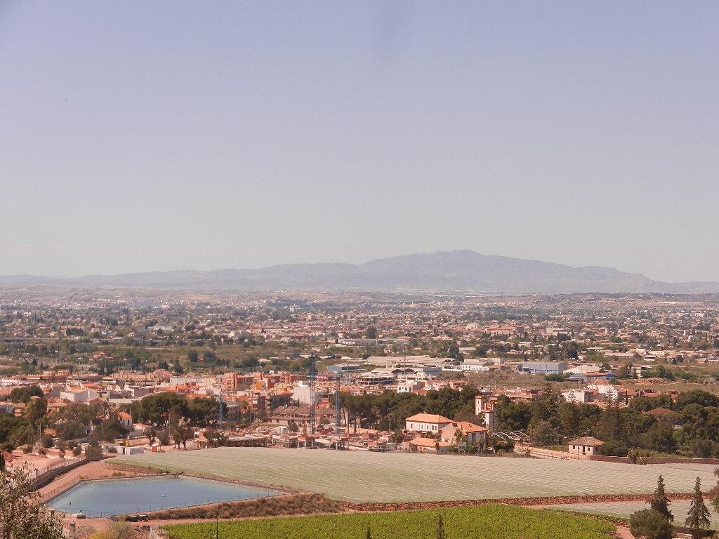 Blick auf die Stadt Murcia