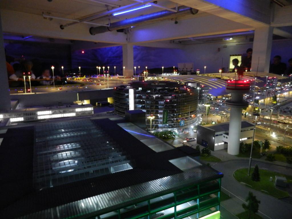 der Hamburger Flughafen - in Miniatur