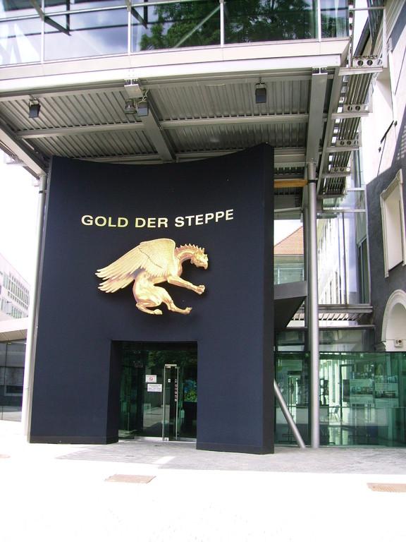 Ausstellung  - Gold d. Steppe (v.d. Skythen u. Sarmaten)