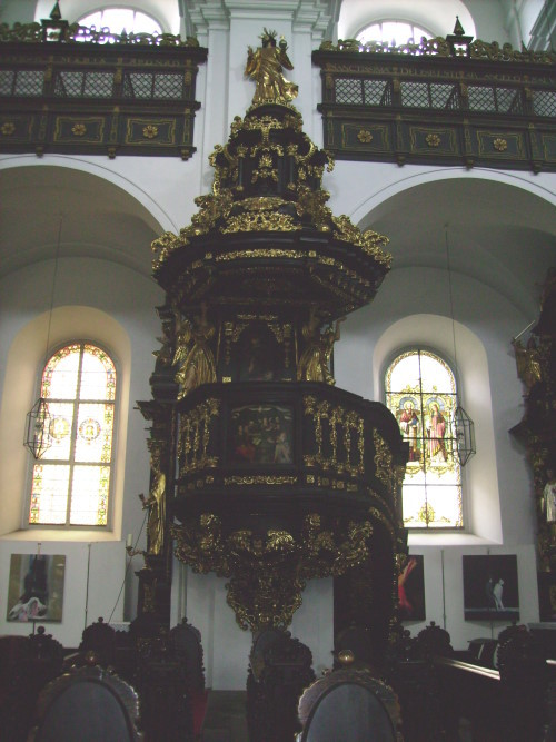 in der Pfarrkirche