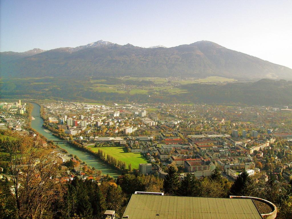 Blick v.d.Hungerburg auf Innsbruck