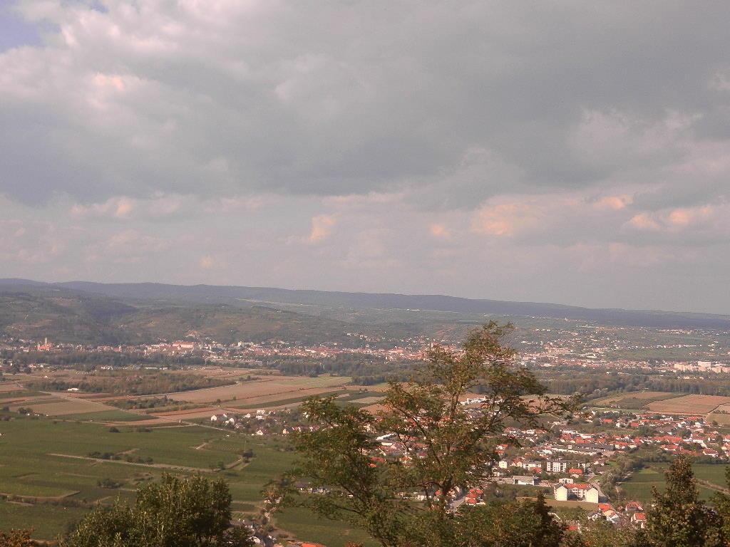 Blick vom Stift auf die Stadt Krems