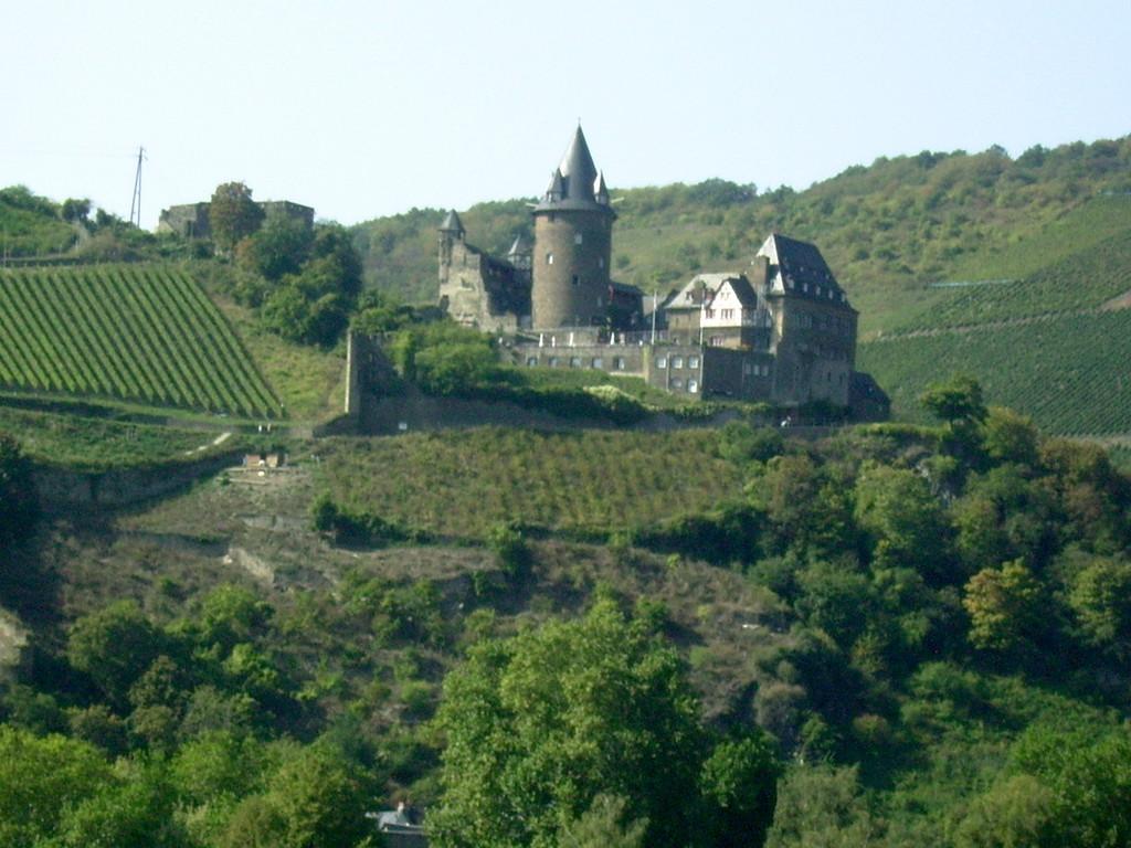 Burg Stahleck über Bacharach