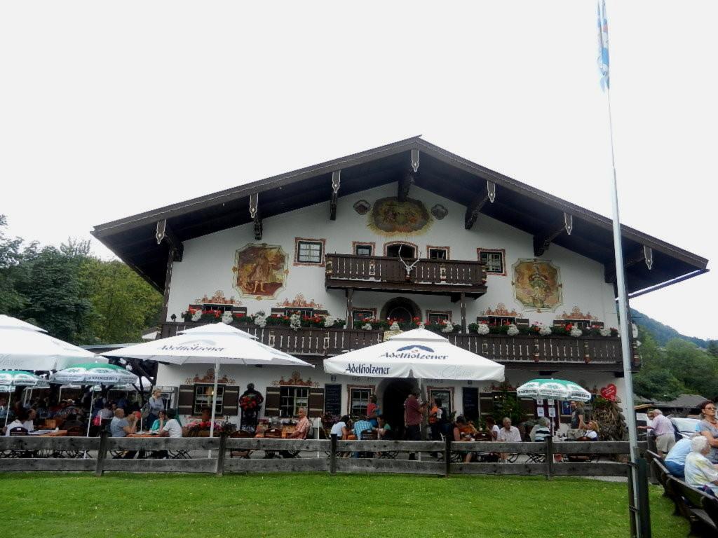GH Windbeutelgräfin in Ruhpolding in Bayern