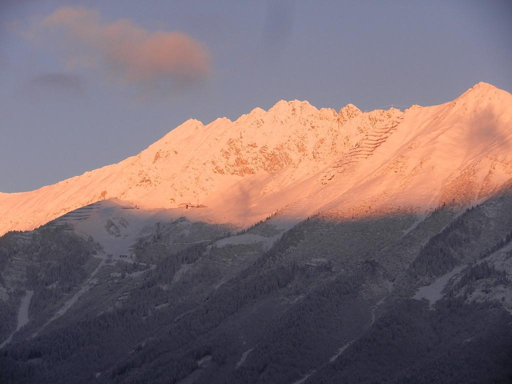 Sonnenaufgang auf der Nordkette - 23. Nov. 2015