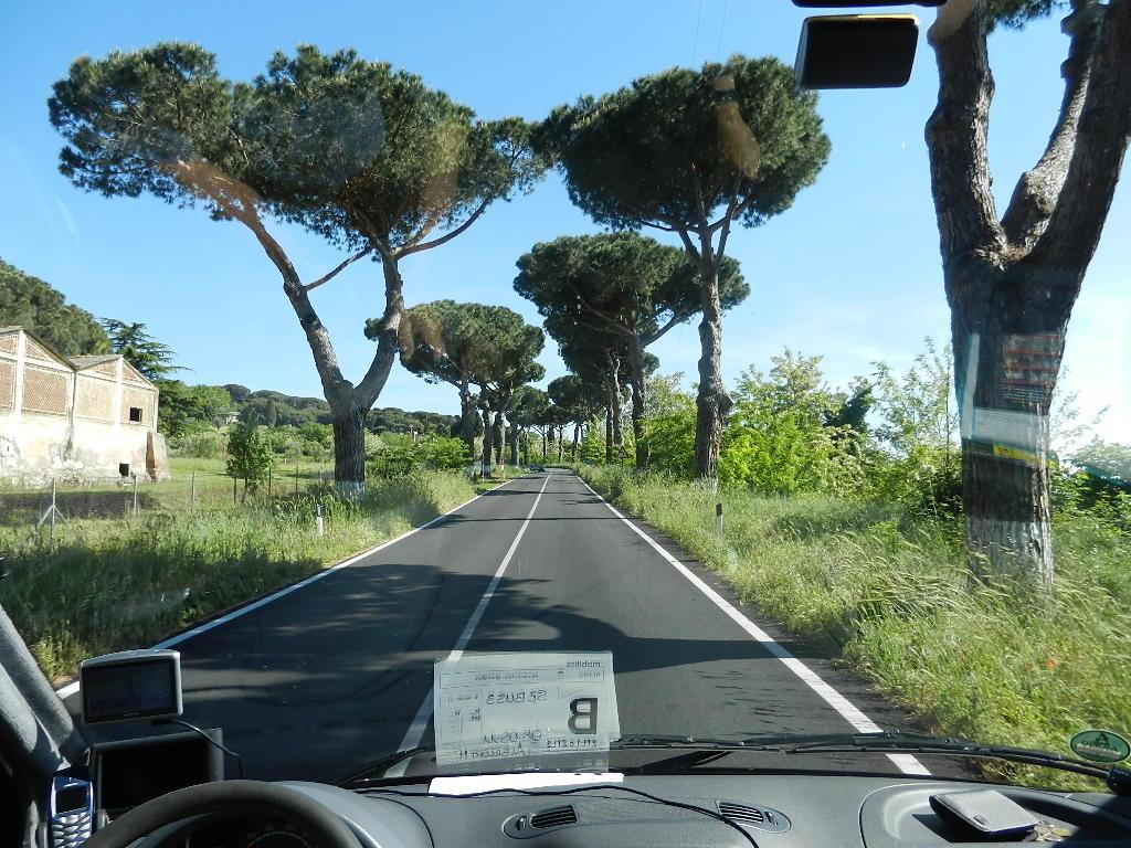 ....und weiter ging die Fahrt Richtung Castel Gandolfo