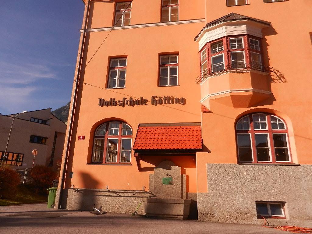 ...alles bei der Volksschule Innsbruck-Hötting