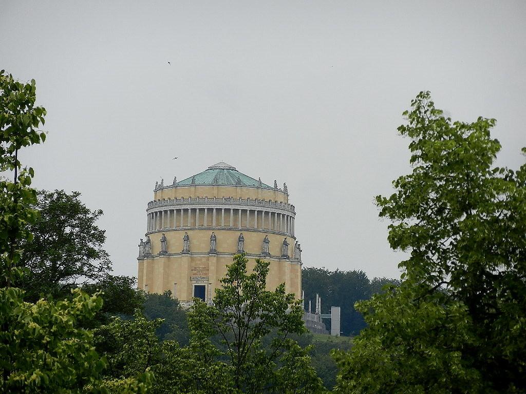 Befreiungshalle auf dem Michaelsberg - oberhalb von Kelheim