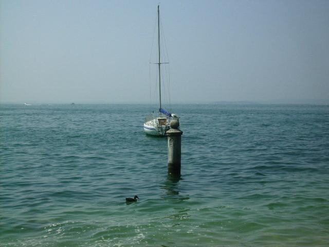 und noch einmal Blick auf den See....