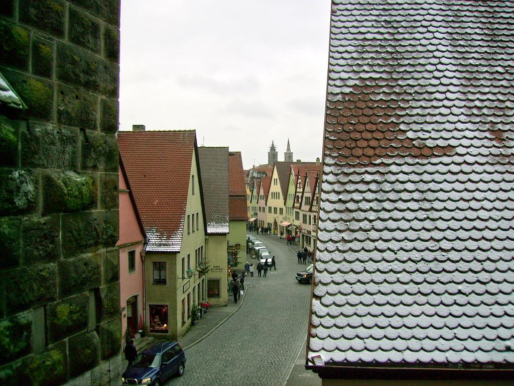 Blick von der Mauer