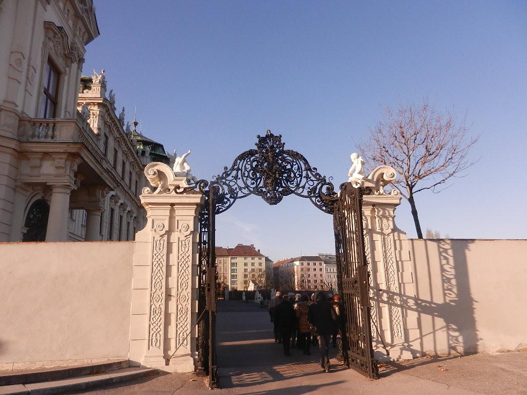 zum oberen Schloss Belvedere