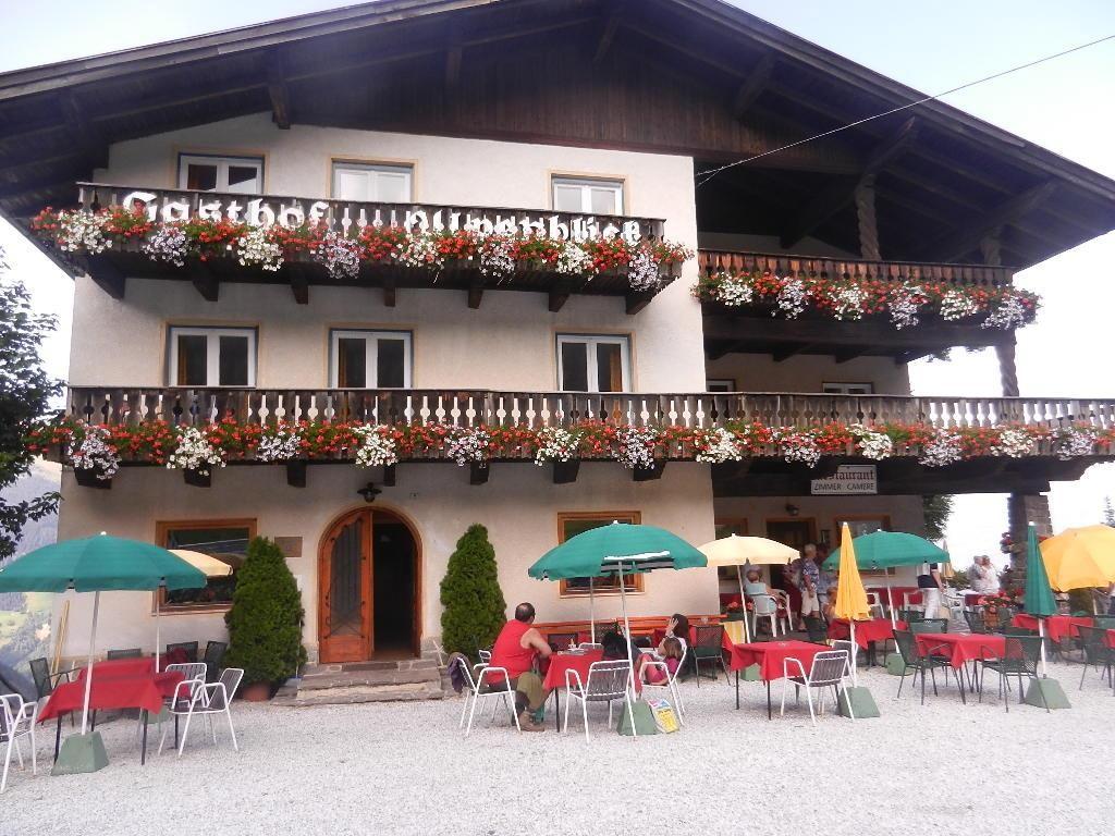 Letzte Raststation in Ratschings in Südtirol