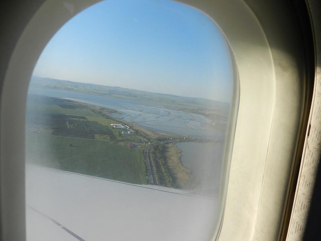 Anflug auf Burgas
