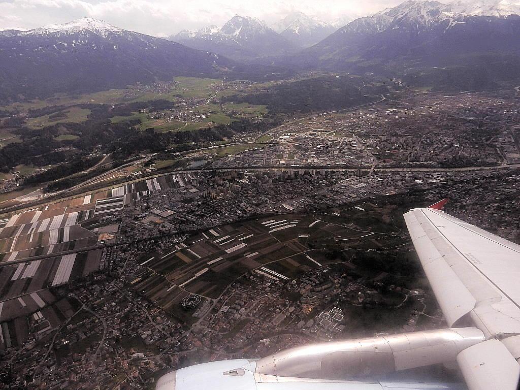 letzter Blick auf Innsbruck