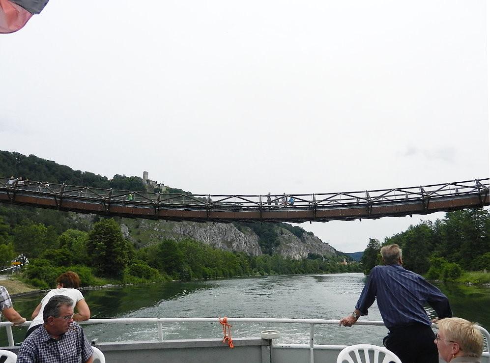 """...der """"Tatzlwurm"""" einer der längsten Holzbrücke Europas"""