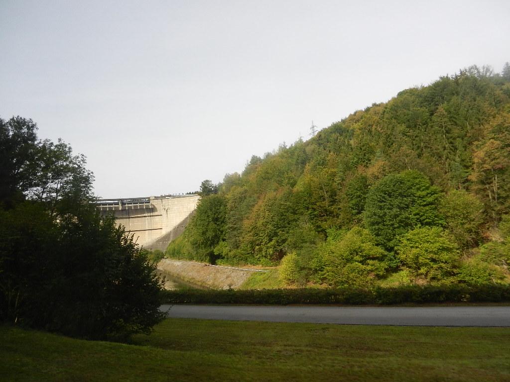 """im Kamptal - im Hintergrund die Staumauer vom """"Stausee Ottenstein"""""""