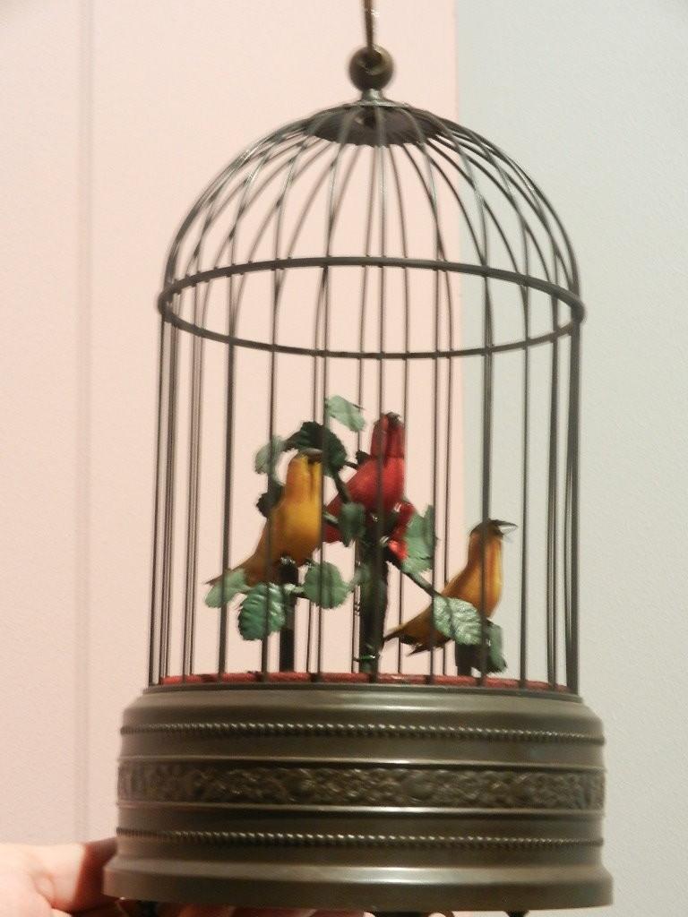 Nachbau eines Mechanischen Singvogelkäfig