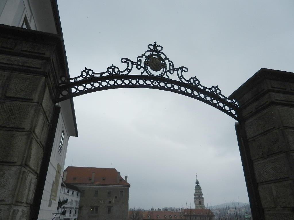 Eingang zum Schlossgelände