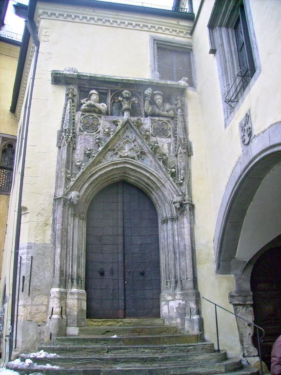 Portal d. alten Rathaus