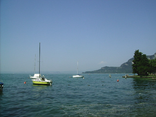Blick auf den See....