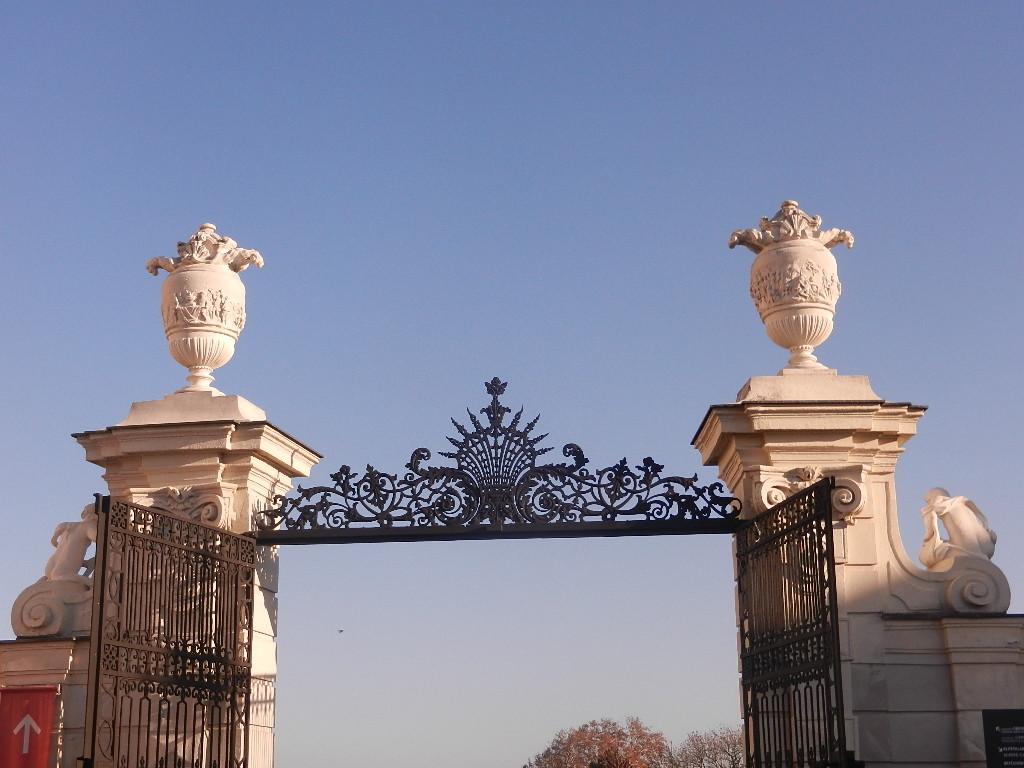 Eingang Schloss Belvedere