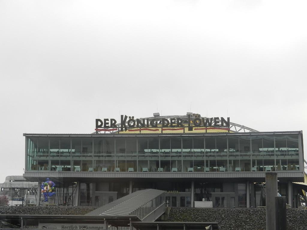 """Theater im Hafen - Aufführungsort """"König der Löwen"""""""