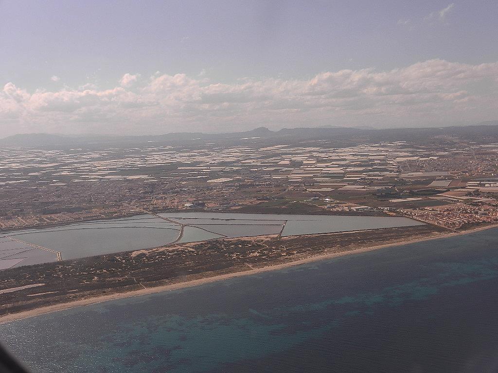 Anflug auf Murcia