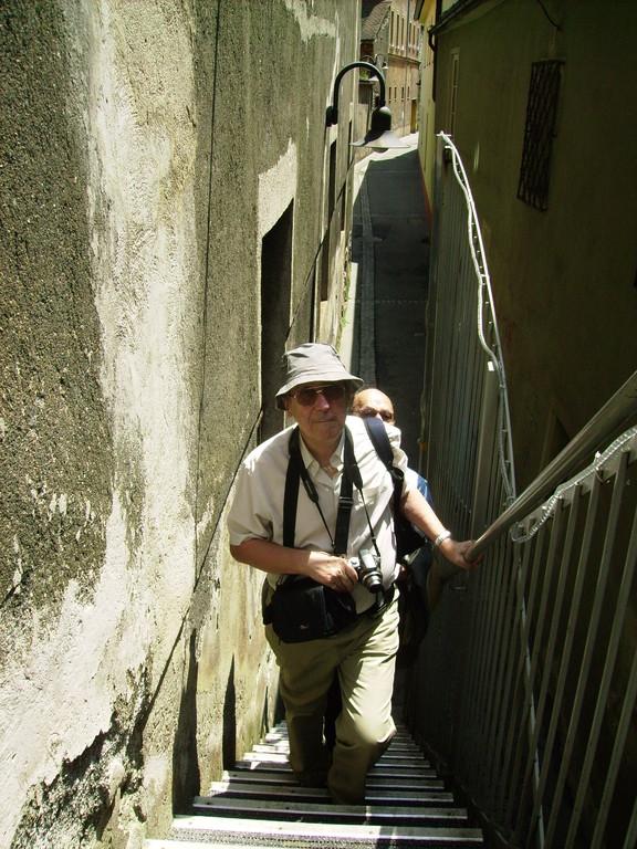 ist keine Bergtour - nur der Aufstieg zum Schwammerlturm in Leoben