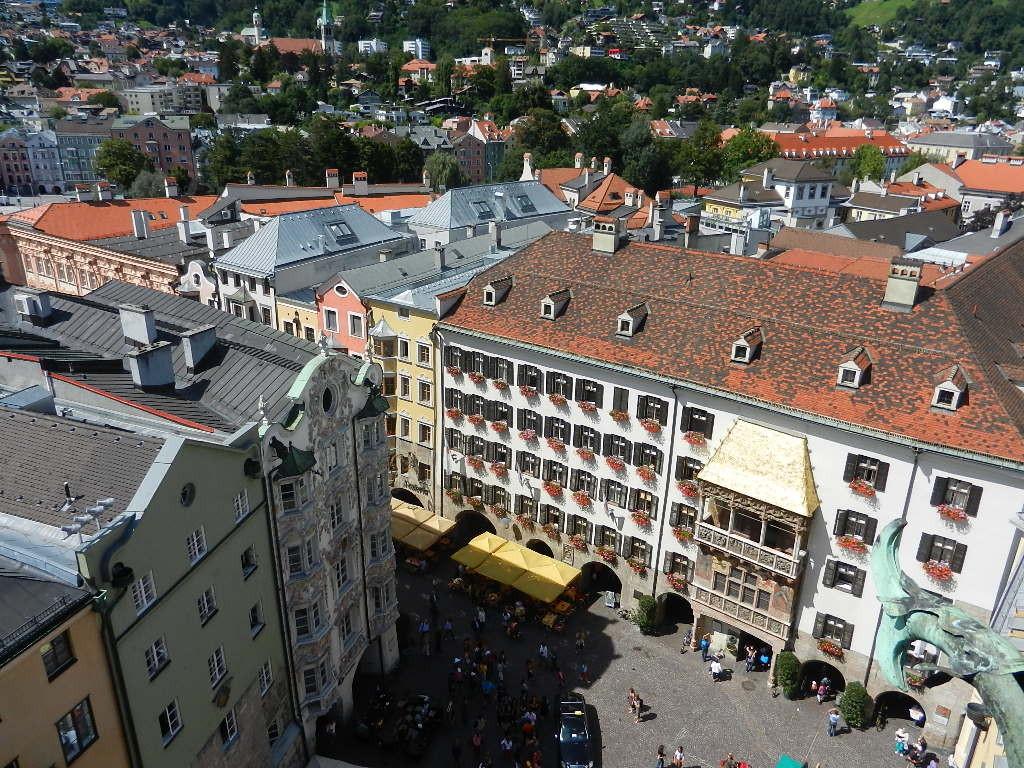 in der Altstad - Blick v. Stadtturm