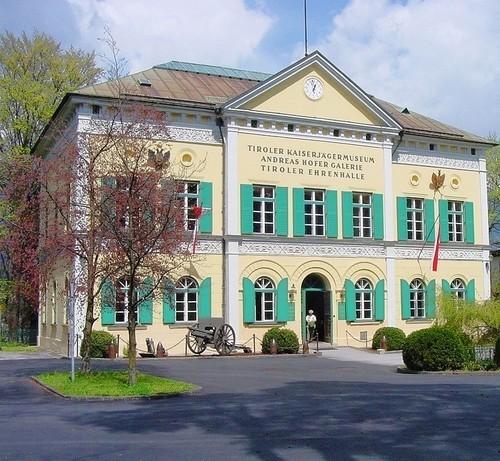 Kaiserjägermuseum vor der Renovierung....