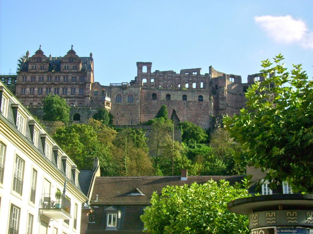 Wahrzeichen v. Heidelberg