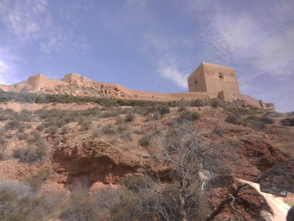 das Castillo oberhalb der Stadt Lorca
