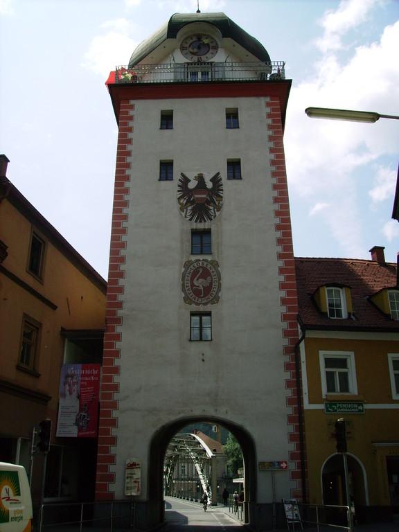 """""""Schwammerlturm"""" (Überbleibsel v. d. Stadtmauer)"""