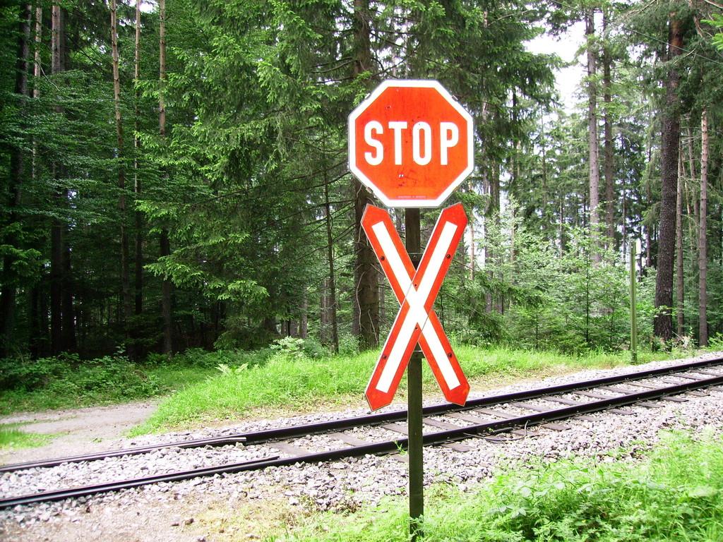 Bahnlinie der Straßenbahn Nr. 6 v. Ibk. nach Lans-Igls