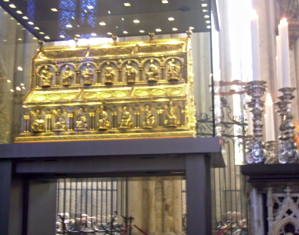 goldener Schrein der Hl. Drei Könige