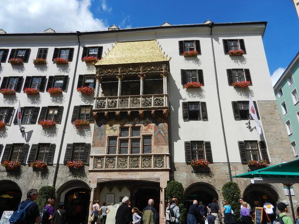 Goldenes Dachl - in der Altstadt