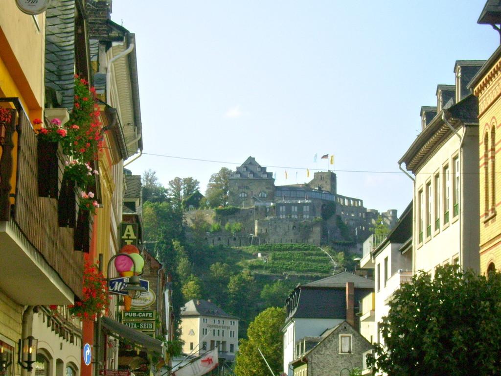 St. Goar - Burg Rheinfels