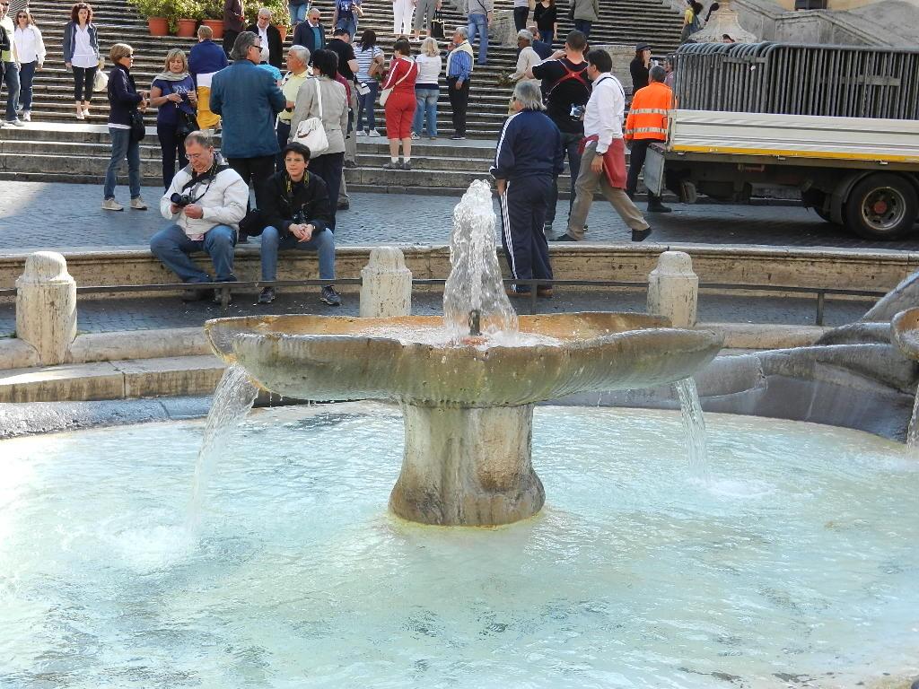 Fontana della Barcacia