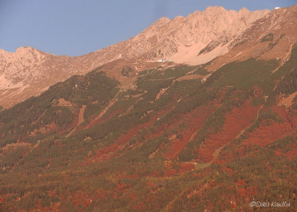 Morgenstimmung auf der Nordkette -oberhalb v. Innsbruck - 2. Nov. 2015