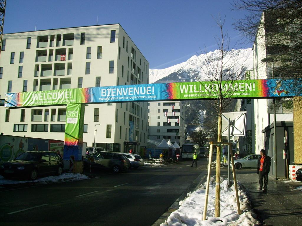 3. Olymp.Dorf anlässl. d. Jugend-Winterolympiade v. 13 .- 22. Jän. 2012