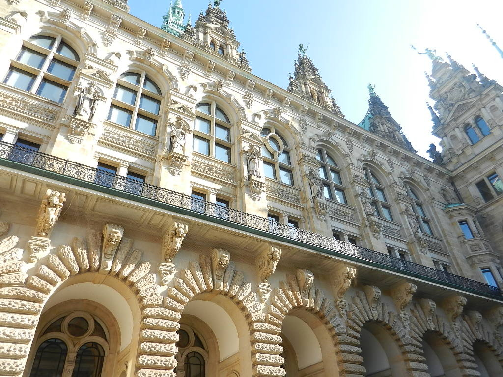 Rathaus - Innenhof