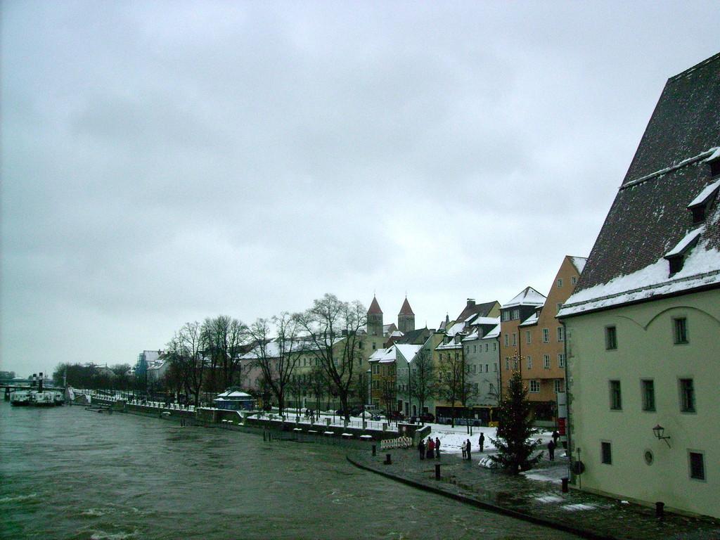 Blick v.d. Steinernen Brücke