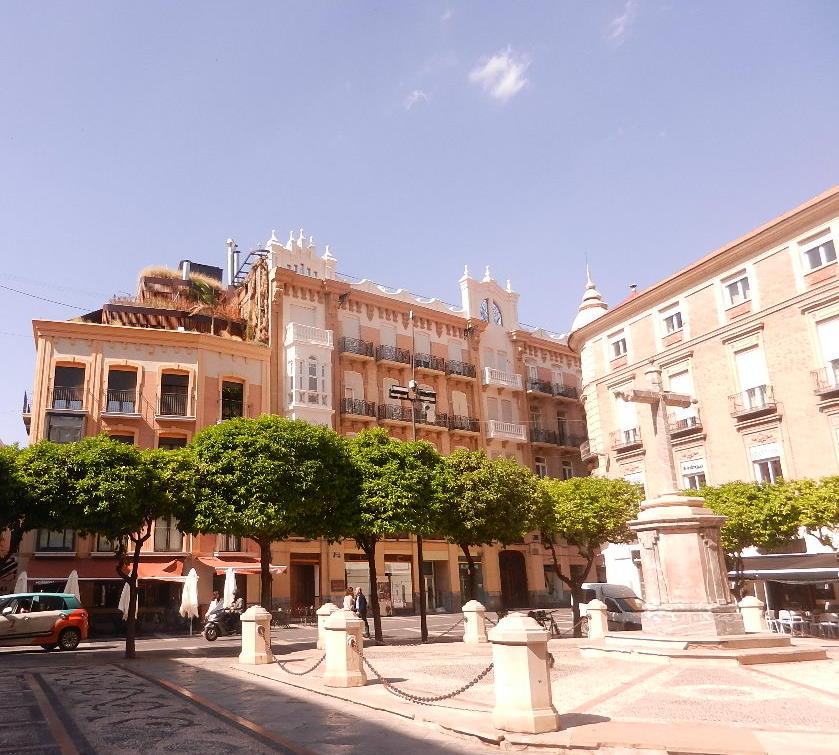 Impression aus der Stadt Murcia